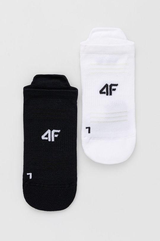 alb 4F - Sosete (2-pack) De femei