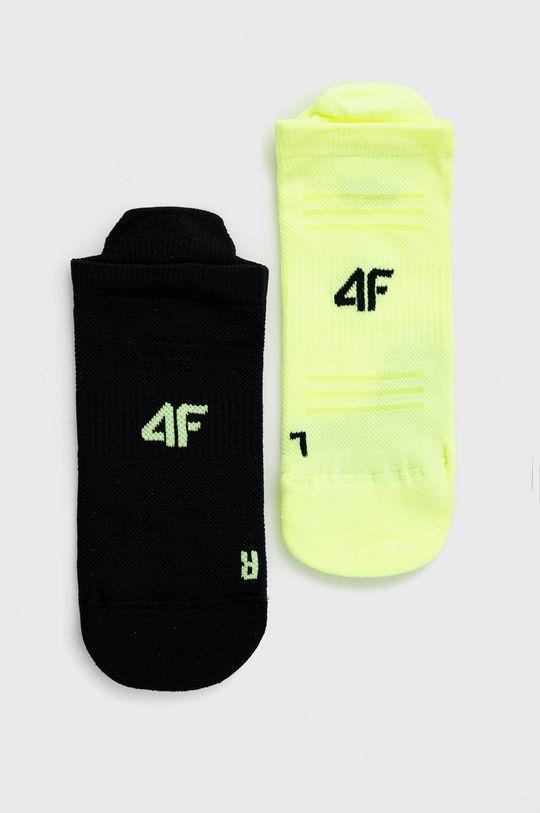 negru 4F - Sosete (2-pack) De femei