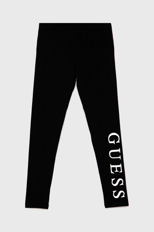 černá Guess - Dětské legíny Dívčí