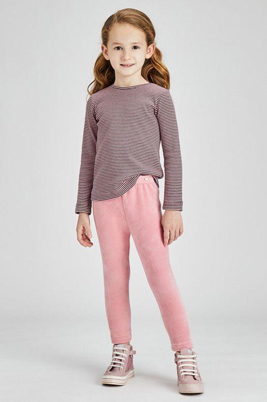 różowy Mayoral - Legginsy dziecięce Dziewczęcy