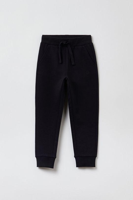 czarny OVS - Spodnie dziecięce Dziewczęcy