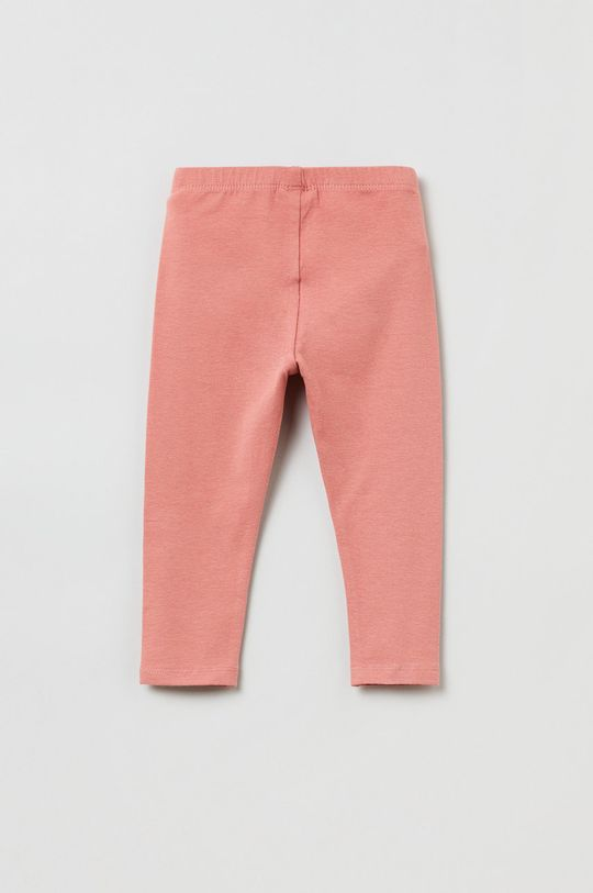 OVS - Legginsy dziecięce różowy
