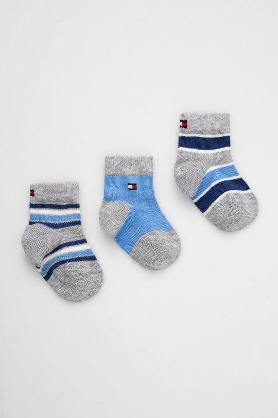 niebieski Tommy Hilfiger - Skarpetki dziecięce (3-pack) Dziecięcy
