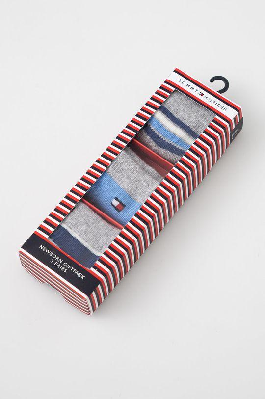 Tommy Hilfiger - Skarpetki dziecięce (3-pack) niebieski