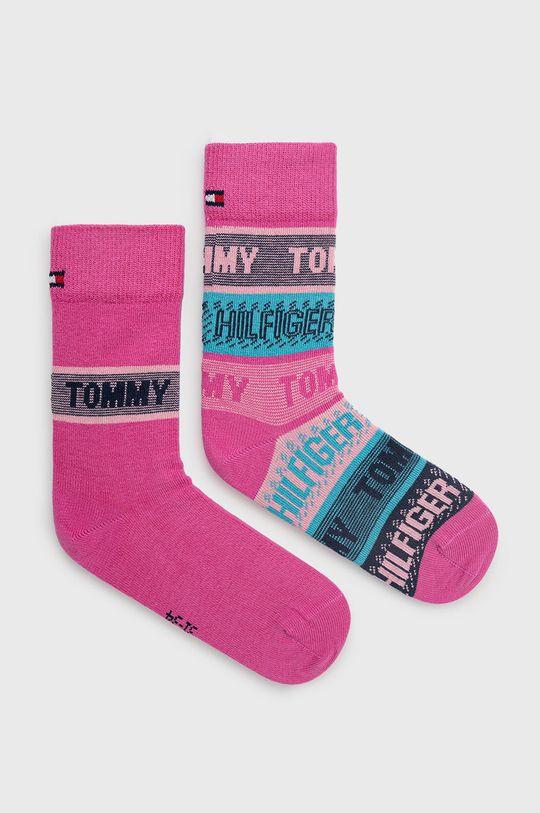 roz ascutit Tommy Hilfiger - Sosete copii (2-pack) De copii