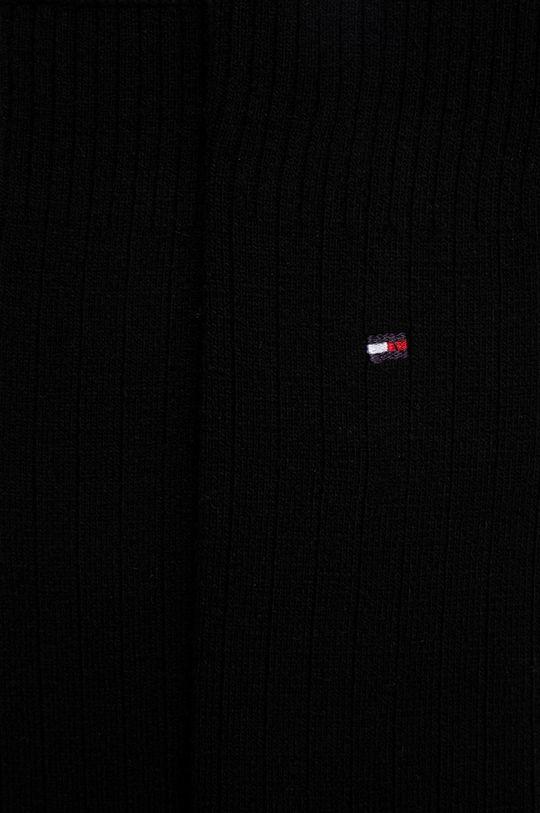 Tommy Hilfiger - Ponožky ze směsi vlny černá