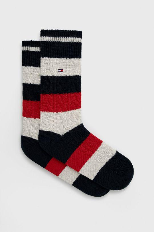 námořnická modř Tommy Hilfiger - Ponožky ze směsi vlny Pánský