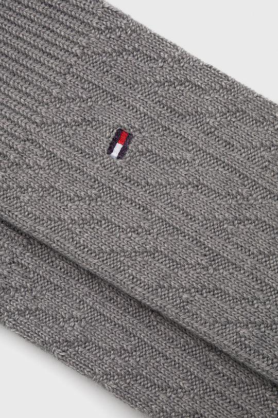 Tommy Hilfiger - Ponožky ze směsi vlny šedá