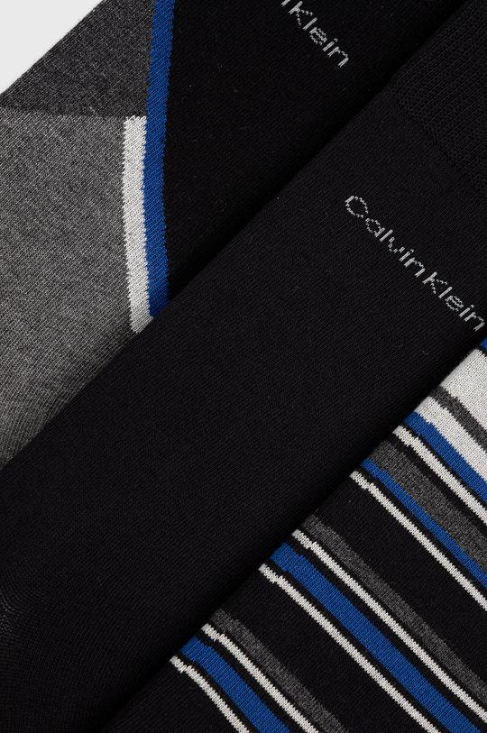 Calvin Klein - Ponožky (3-pack) grafitová
