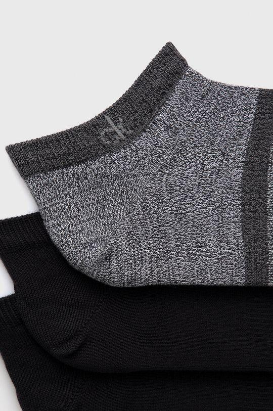 Calvin Klein - Ponožky (3-pack) černá