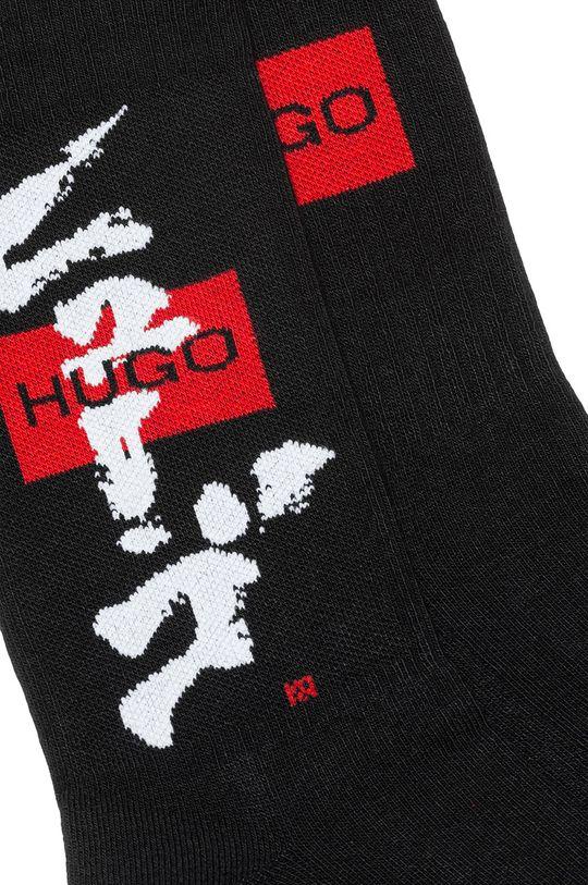 Hugo - Ponožky (2-pak) čierna