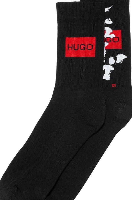 Hugo - Ponožky (2-pak)  70% Bavlna, 4% Elastan, 26% Polyamid