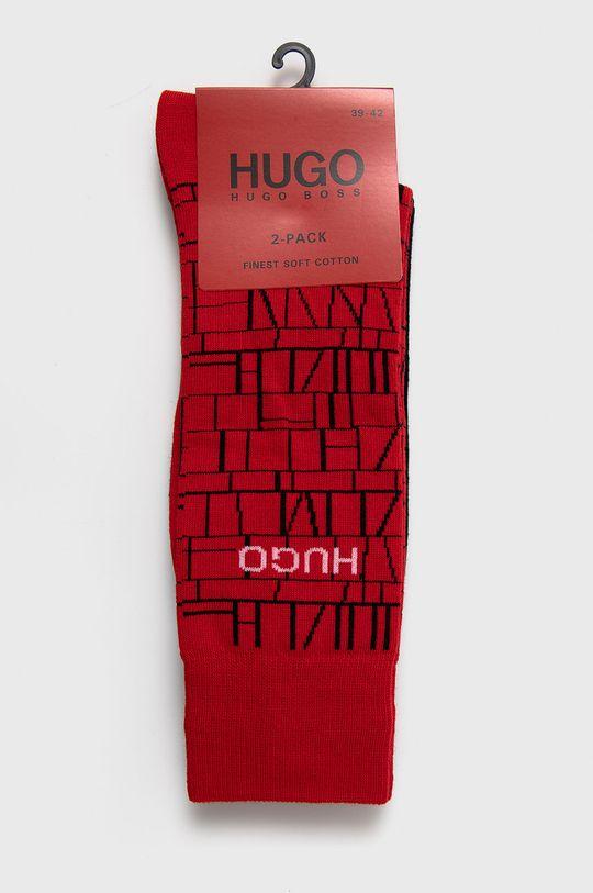 Hugo - Ponožky (2-pak)  69% Bavlna, 2% Elastan, 29% Polyamid
