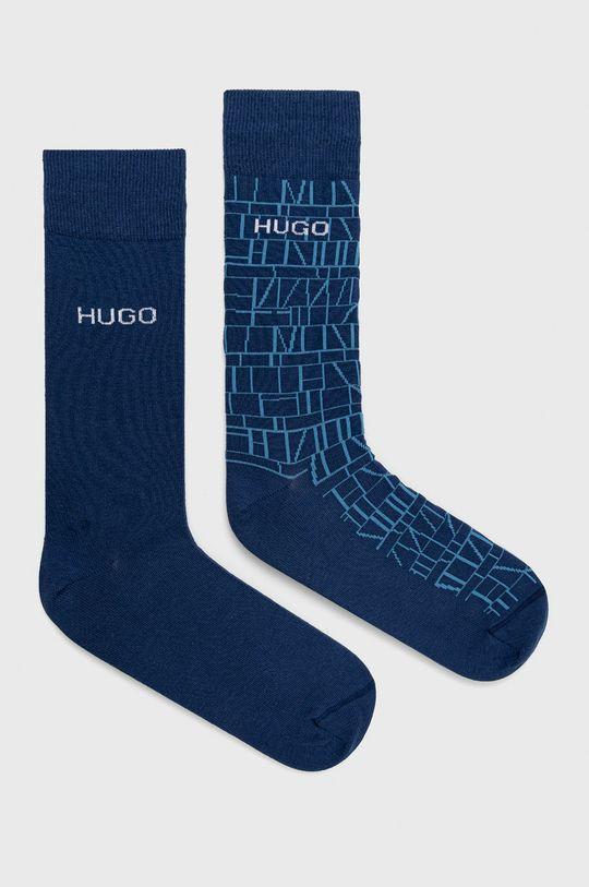 bleumarin Hugo - Sosete (2-pack) De bărbați