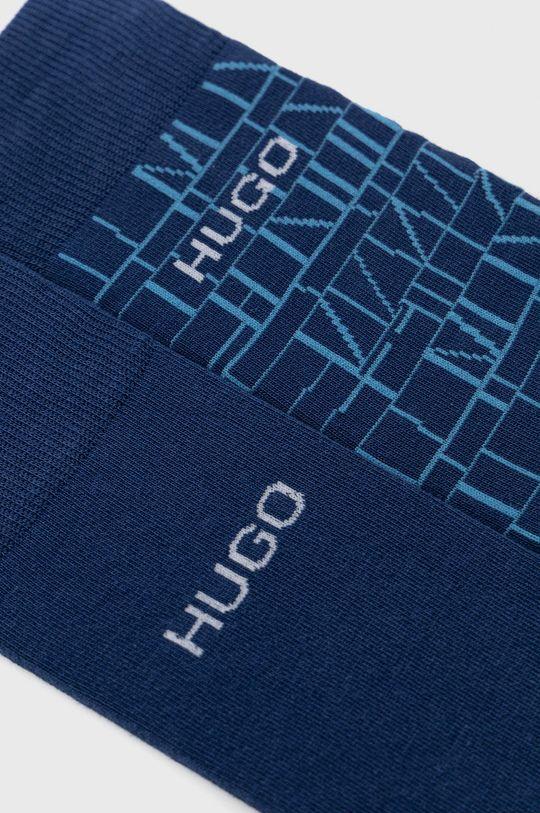 Hugo - Sosete (2-pack) bleumarin