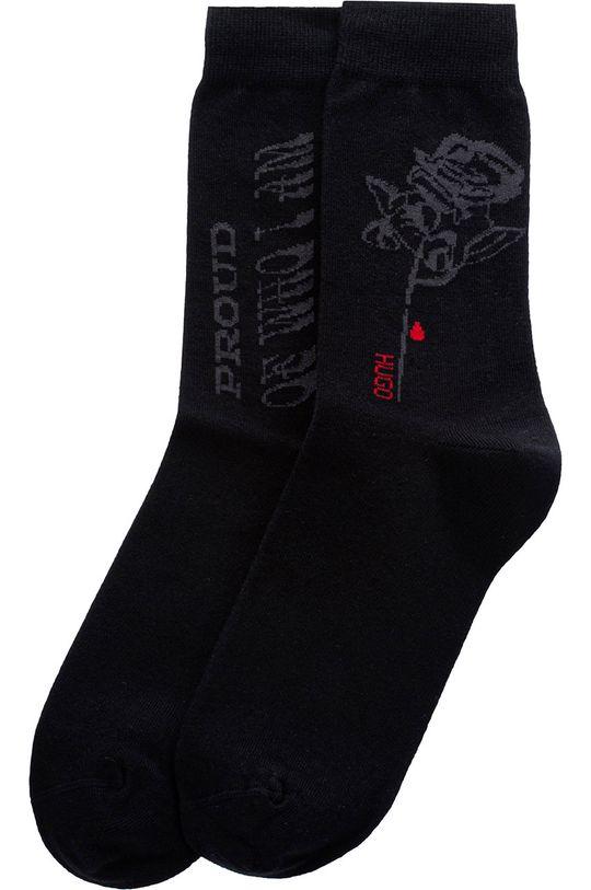 Hugo - Ponožky  80% Organická bavlna, 2% Elastan, 18% Polyamid