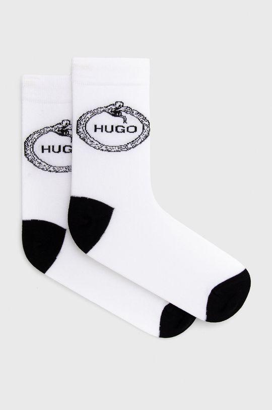 biały Hugo - Skarpetki Męski