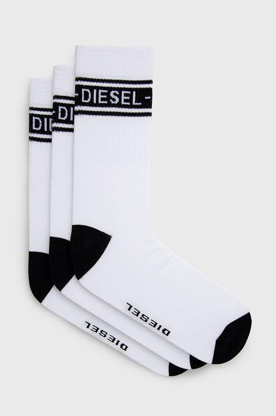 biela Diesel - Ponožky (3-pak) Pánsky