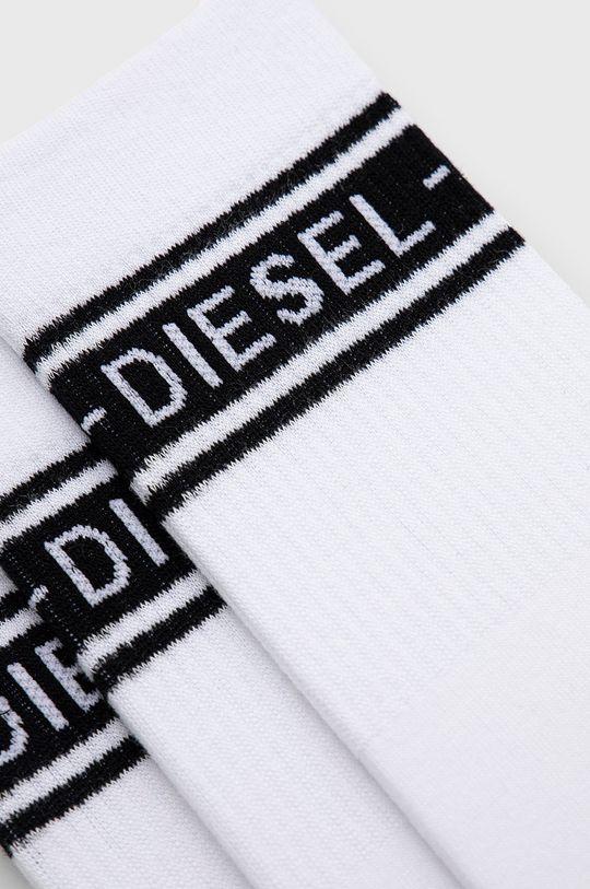 Diesel - Ponožky (3-pak) biela