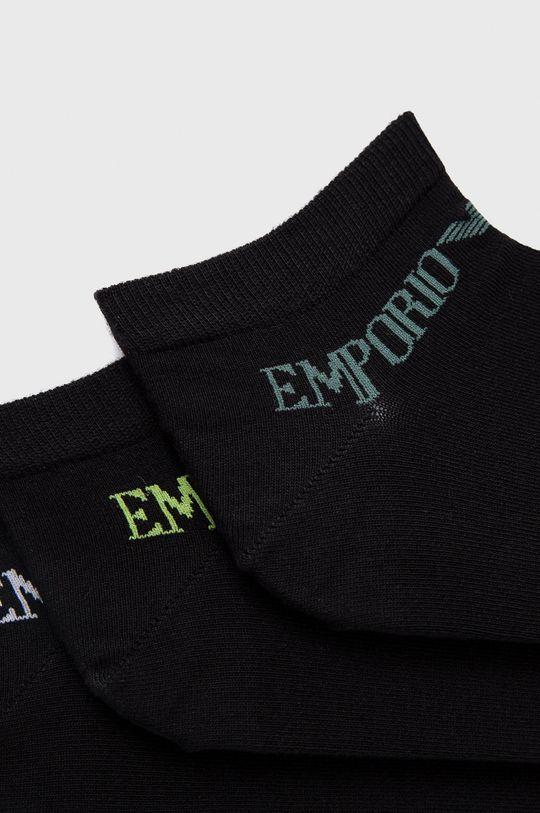 Emporio Armani Underwear - Skarpetki (3-pack) czarny