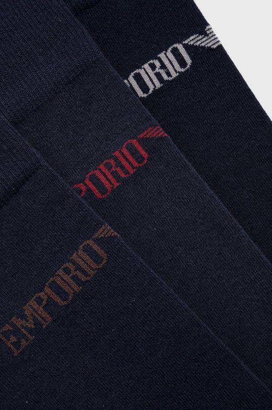 Emporio Armani Underwear - Skarpetki (3-pack) granatowy