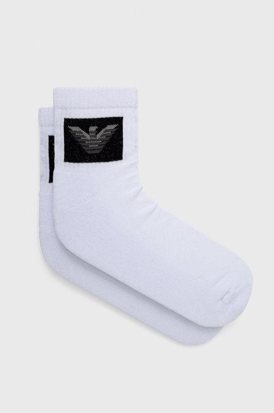 λευκό Emporio Armani Underwear - Κάλτσες (2-pack) Ανδρικά