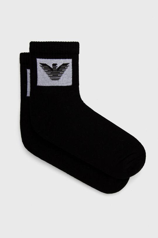 μαύρο Emporio Armani Underwear - Κάλτσες (2-pack) Ανδρικά