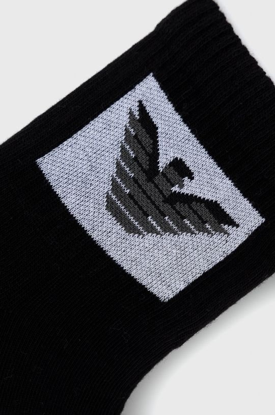 Emporio Armani Underwear - Κάλτσες (2-pack) μαύρο