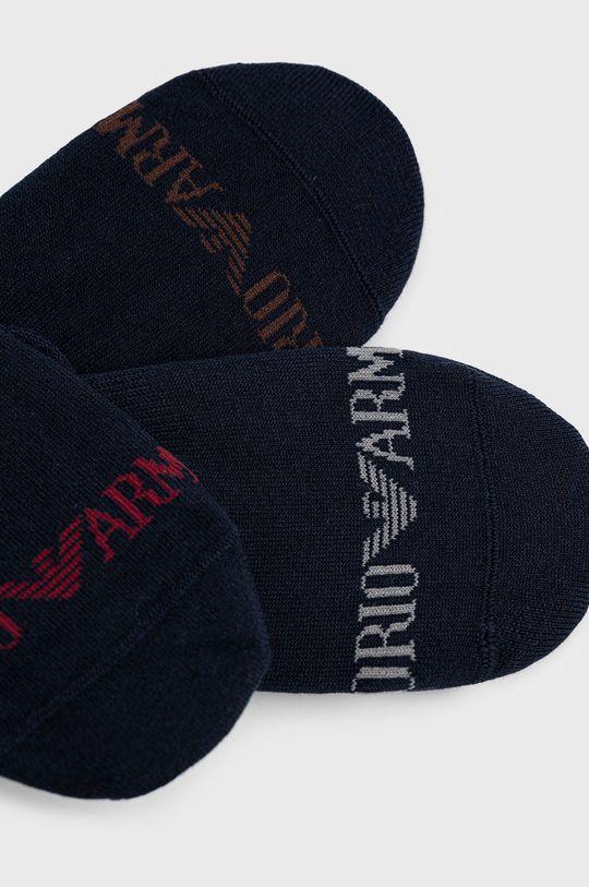 Emporio Armani Underwear - Κάλτσες (3-pack) σκούρο μπλε