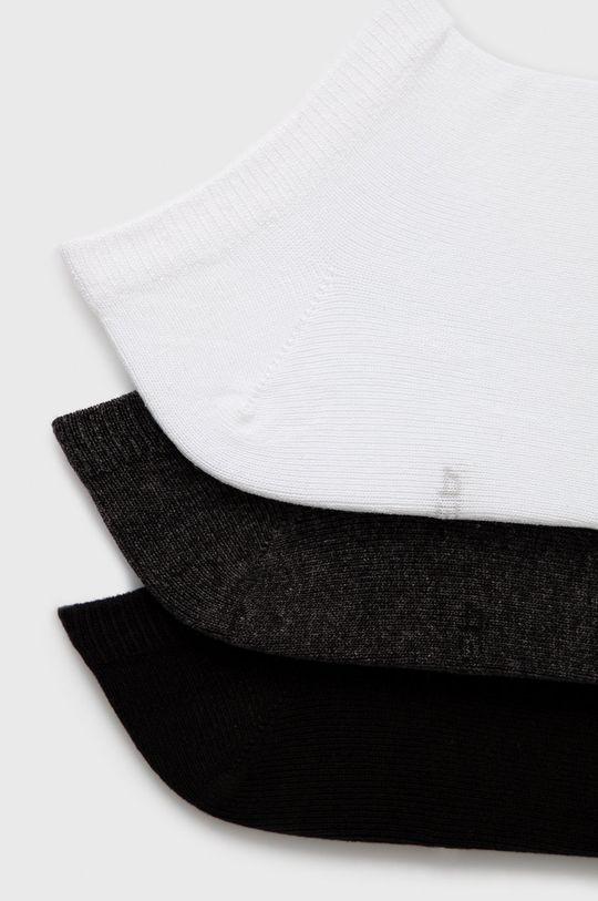 4F - Ponožky (3-pack) černá
