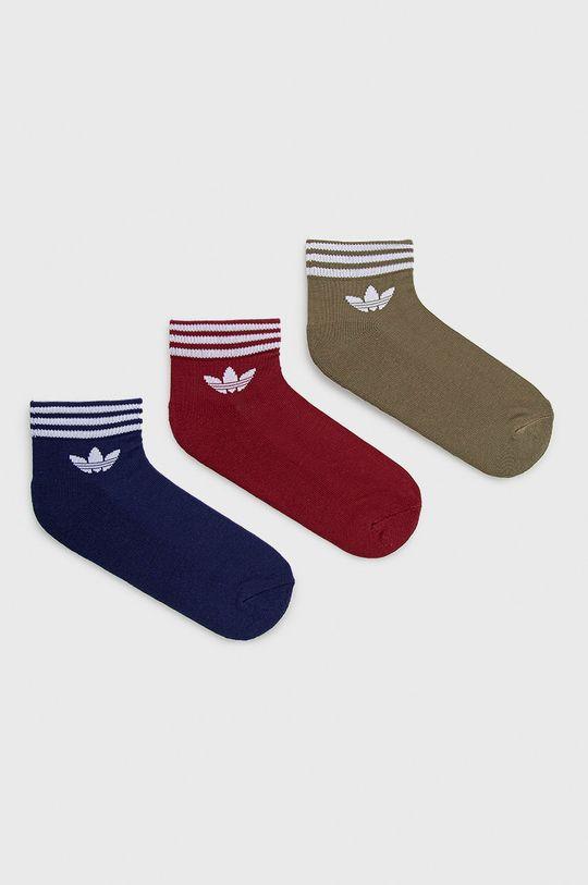 πολύχρωμο adidas Originals - Κάλτσες (3-pack) Ανδρικά