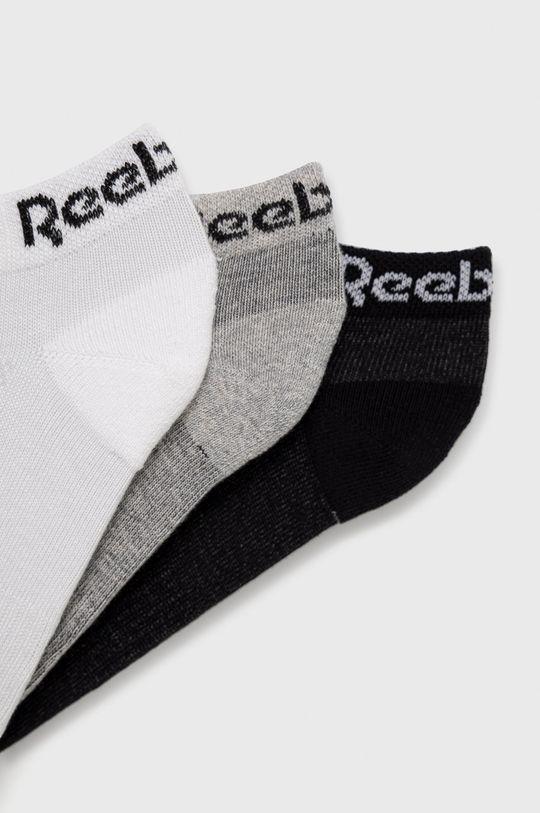 Reebok - Ponožky (3-pack) vícebarevná