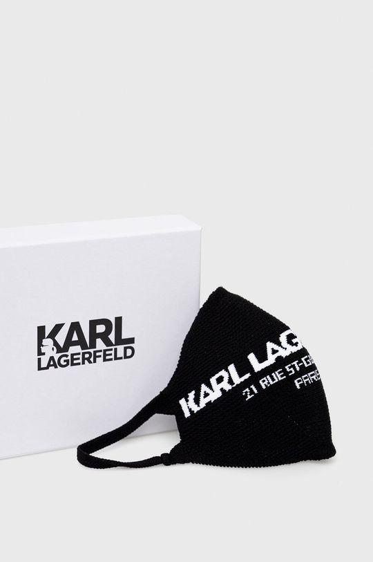 černá Karl Lagerfeld - Ochranná rouška