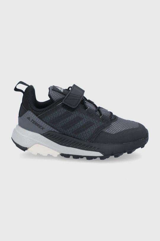 čierna adidas Performance - Detské topánky Terrex Trailmaker Chlapčenský