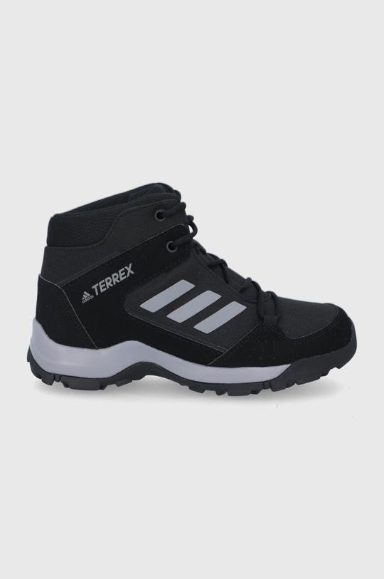 čierna adidas Performance - Detské topánky Hyperhiker Chlapčenský