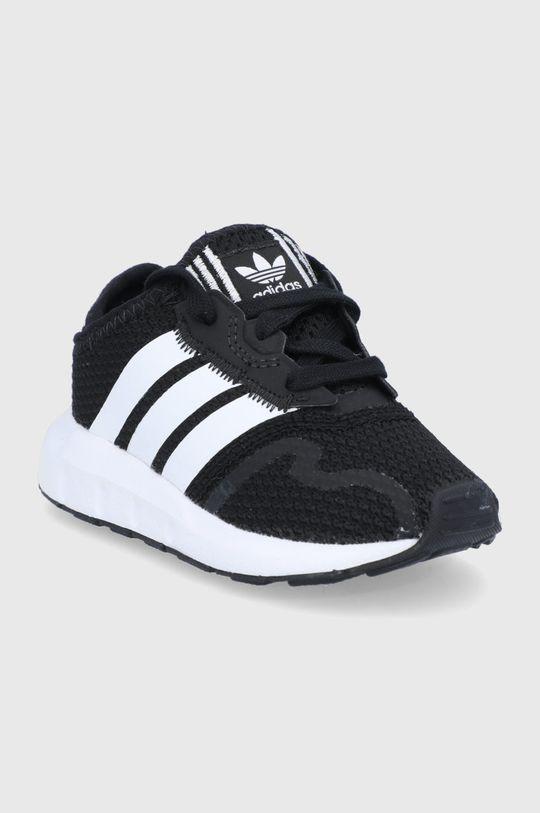 adidas Originals - Detské topánky SWIFT RUN X I čierna