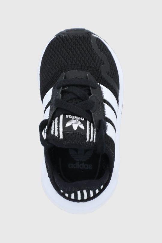 čierna adidas Originals - Detské topánky SWIFT RUN X I