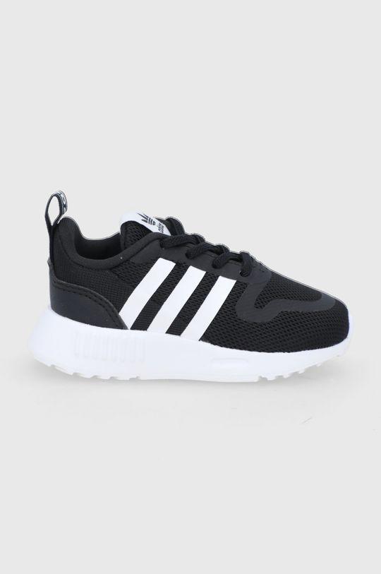 čierna adidas Originals - Detské topánky Multix El I Chlapčenský