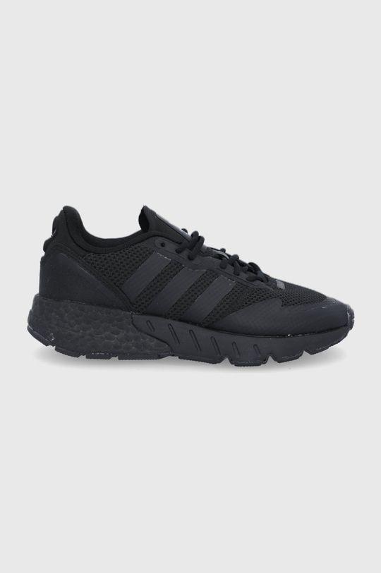 čierna adidas Originals - Detské topánky ZX 1K Boost J Chlapčenský