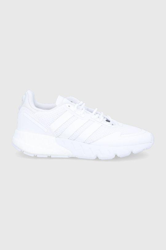 biały adidas Originals - Buty dziecięce ZX 1K Boost Chłopięcy