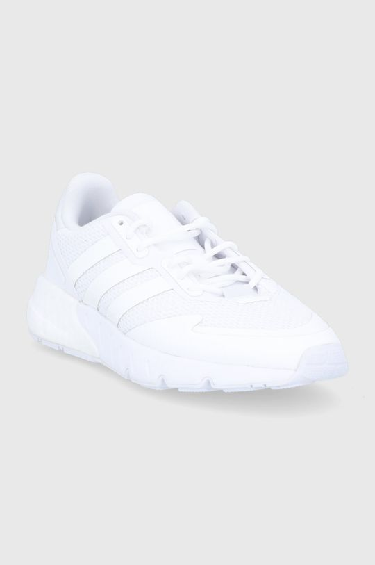 adidas Originals - Buty dziecięce ZX 1K Boost biały
