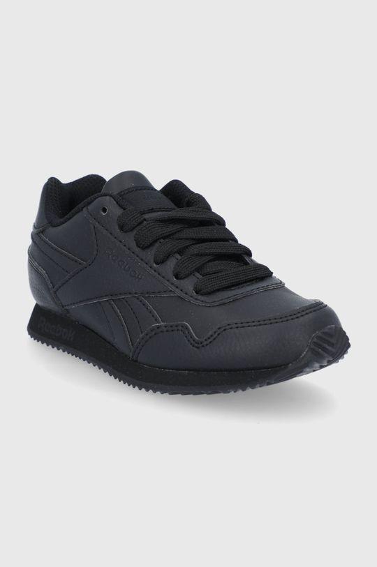 Reebok Classic - Dětské boty Royal CLJOG 3.0 černá