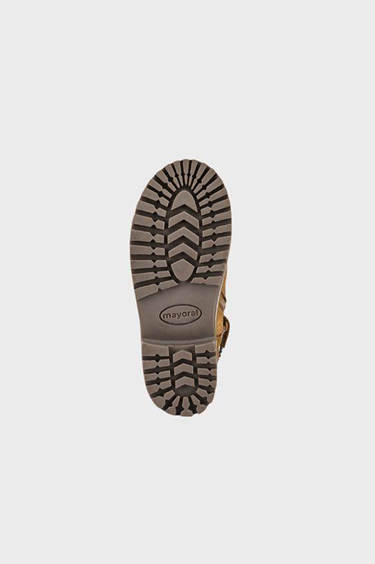 cafea Mayoral - Pantofi din piele intoarsa pentru copii