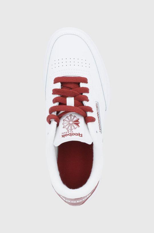 bílá Reebok Classic - Dětské kožené boty Club C
