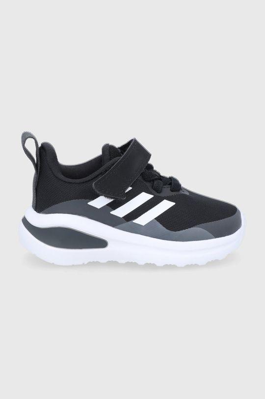 czarny adidas Performance - Buty dziecięce FortaRun EL I Chłopięcy