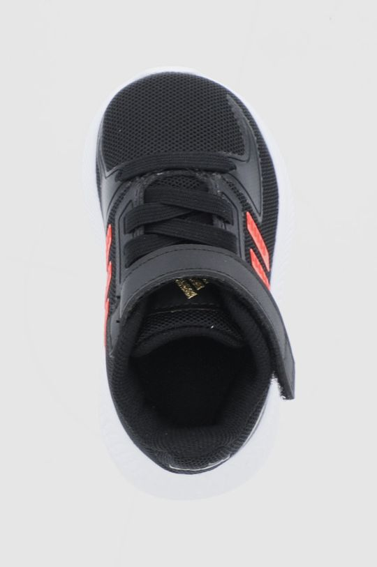 czarny adidas - Buty dziecięce Runfalcon 2.0