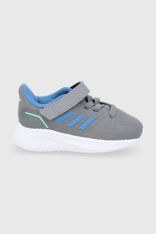 szary adidas - Buty dziecięce Runfalcon 2.0 Chłopięcy