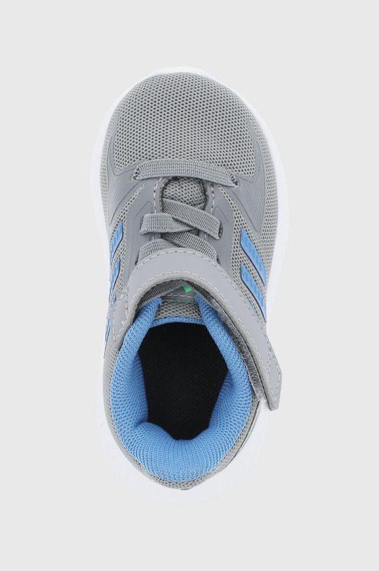 szary adidas - Buty dziecięce Runfalcon 2.0
