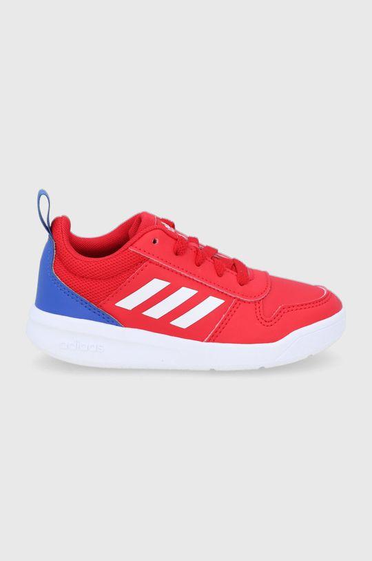czerwony adidas - Buty dziecięce Tensaur Chłopięcy