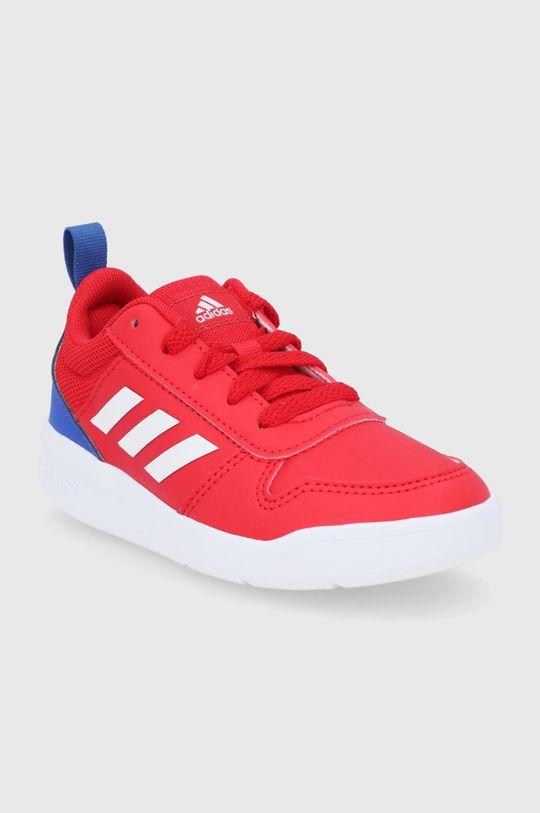 adidas - Buty dziecięce Tensaur czerwony